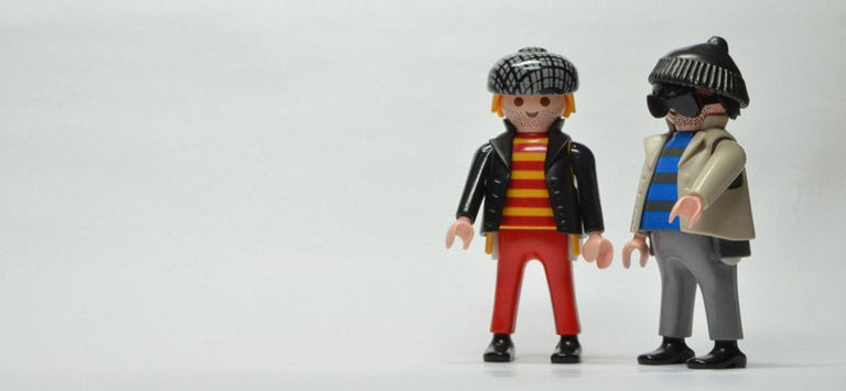 Playmobil© Pete & Rob